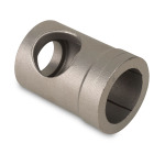 "Stainless Steel | 1.5 lbs | 2.2"" x 2.2"" x 3"" 