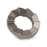 "Carbonitrided Alloy Steel | 0.6 lbs | 3"" x 3"" x 0.8"" | 30000 EAU"
